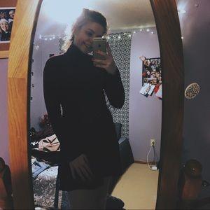 turtleneck dress (shein)